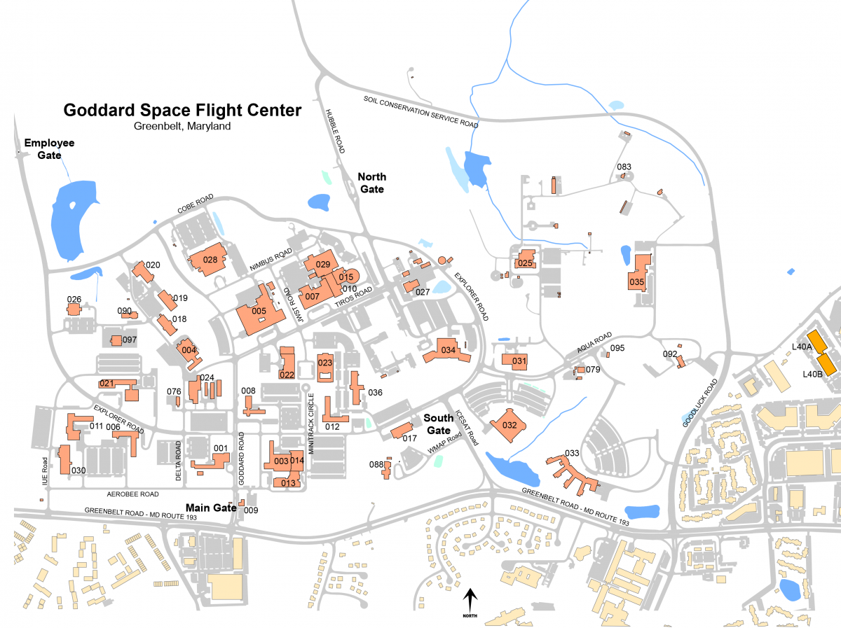 Goddard Campus Map.Visitor Information For Supply Chain 2018 At Nasa Gsfc Code 300